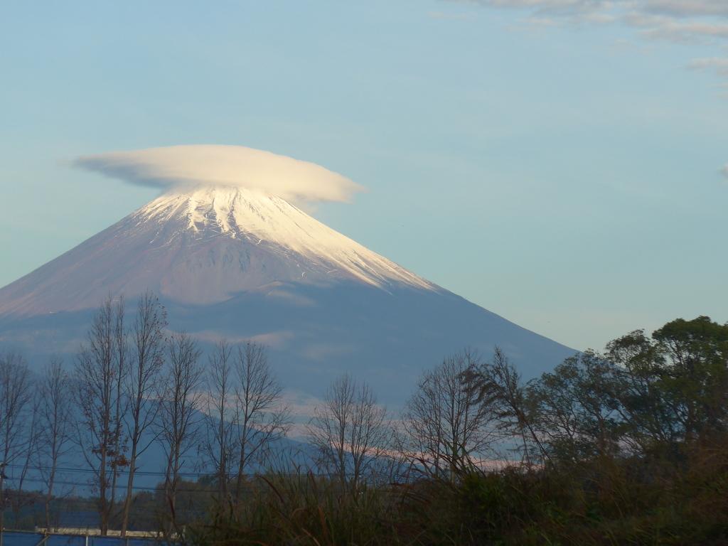 P1120611 11月17日 今朝の富士山