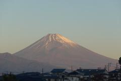 P1190136 11月16日 今朝の富士山
