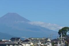 P1280419 9月20日 今朝の富士山