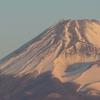 P1250903 2月9日 今朝の富士山