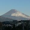 P1000354 12月20日 今朝の富士山