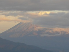 P1120124 10月23日 朝の富士山