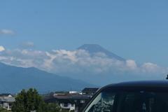 P1022722 7月25日 今朝の富士山