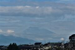 P1280365 (2) 9月10日 今朝の富士山