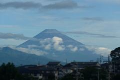 P1280030 7月16日 今朝の富士山