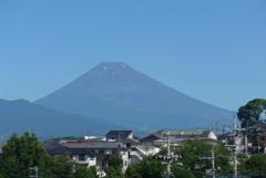 P1280039 7月17日 今朝の富士山