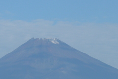 P1280465 9月28日 今朝の富士山