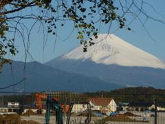 P1120106 10月21日 朝の富士山