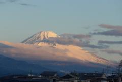 P1200570 2月28日 今朝の富士山