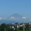 P1280051 7月23日 今朝の富士山