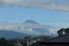 P1280037 7月16日 今朝の富士山