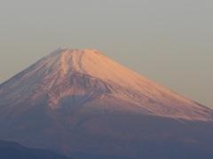 P1120113 10月22日 朝の富士山