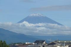 P1280363 9月7日 今朝の富士山