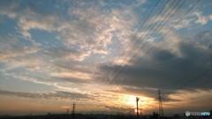 雲ガラケー1
