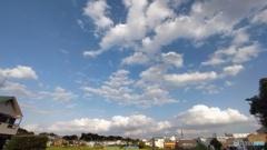広角の青空と雲3