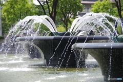 瞬美な噴水公園7