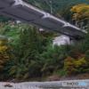 奥多摩大橋と紅葉