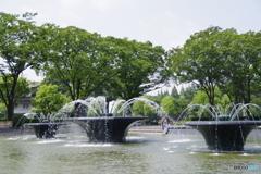 瞬美な噴水公園6