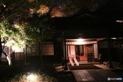 江戸東京たてもの園 ライトアップ 西川家別邸