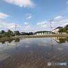 水田と雲2