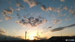 雲ガラケー3