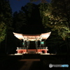 江戸東京たてもの園 ライトアップ 旧自証院霊屋