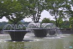 瞬美な噴水公園5