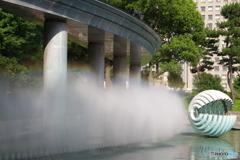 瞬美な噴水公園4