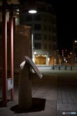 夜の街角 地図