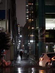 雨の街角1