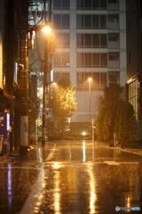 雨の街角2