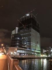 i phoneで夜景を手持ち撮影