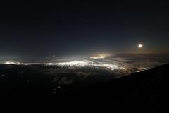 駿河湾の夜景