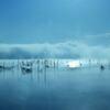 青い湖(うみ)