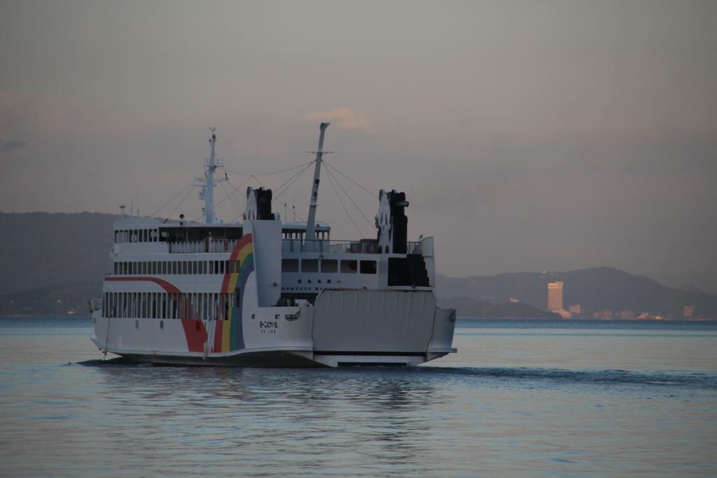 出港 The ship will sail to Takamatsu