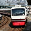 堀切駅にて