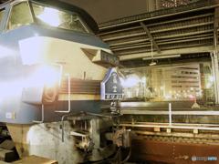 寝台特急富士 大阪駅 2