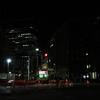 工事の響く夜