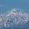 残雪の剣岳