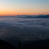 散居村の雲海