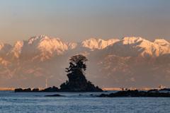剣・女岩・立山