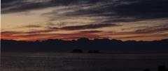 北アルプスの夜明け2
