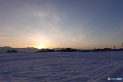 氷点下10,5度の朝