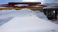 雪国のファミレス