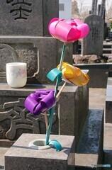 春彼岸の造花