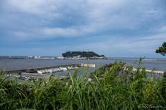 今朝の江ノ島