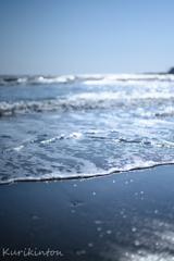 冬の由比ヶ浜