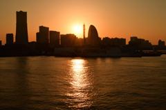 はまこれな風景 落陽