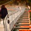 麦山浮き橋