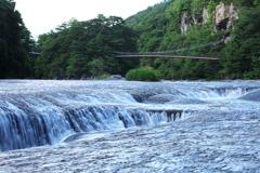 滝めぐり③吹き割の滝♪5